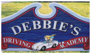 Debbies Driving Academy Logo